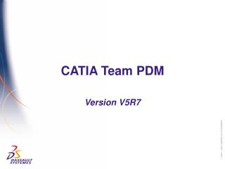 CATIA Team PDM