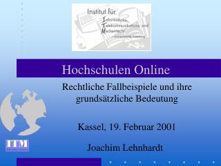 Hochschulen Online