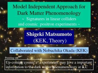 Shigeki Matsumoto       (KEK, Theory)
