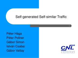 Self-generated Self-similar Traffic