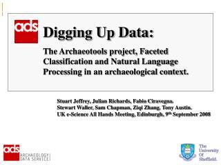 Digging Up Data: