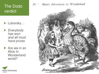 The Dodo  verdict