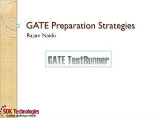 GATE Preparation Strategies