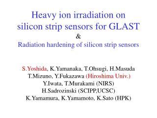 GLAST (Gamma-ray Large Area Space Telescope)