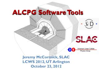 ALCPG Software Tools