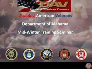 Disabled  American  Veterans Department of Alabama Mid-Winter Training Seminar