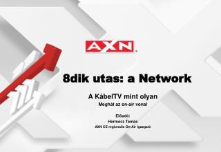 A KábelTV mint olyan Meghát az on-air vonal Előadó: Hermecz Tamás
