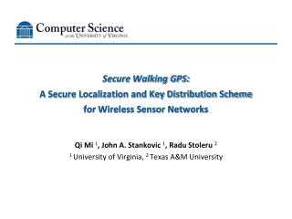 Secure Walking GPS: A Secure Localization and Key Distribution Scheme for Wireless Sensor Networks
