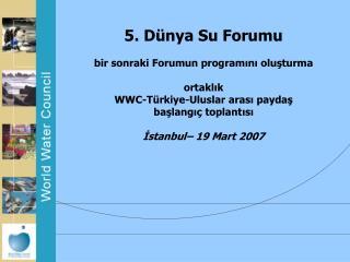 1. Dünya Su Forumu