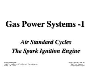 Gas Power Systems -1