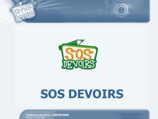 SOS DEVOIRS
