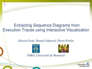 Extracting Sequence Diagrams from  Execution Traces using Interactive Visualization