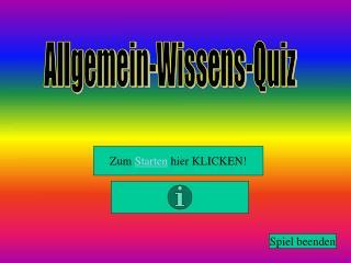 Allgemein-Wissens-Quiz