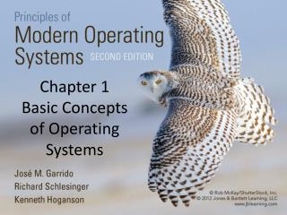 Chapter 1 Basic Concepts of Operating Systems