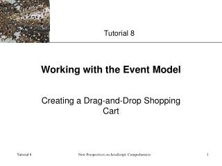 Working with the Event Model