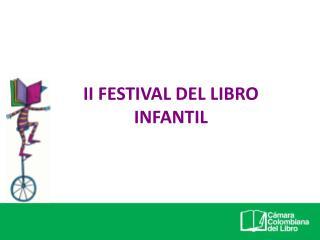 II FESTIVAL DEL LIBRO INFANTIL