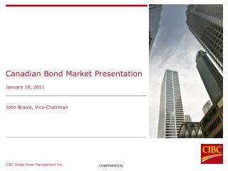 Canadian Bond Market Presentation