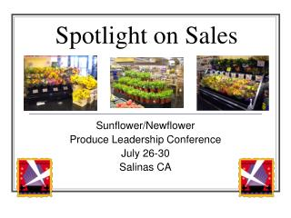 Spotlight on Sales