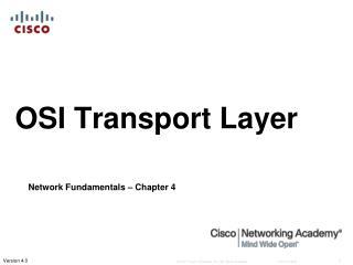 OSI Transport Layer