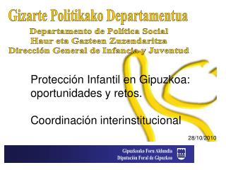 Gizarte Politikako Departamentua