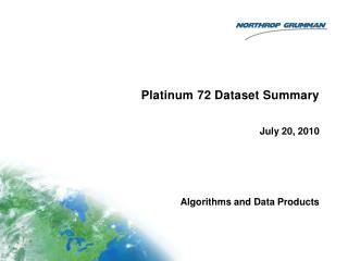 Platinum 72 Dataset Summary