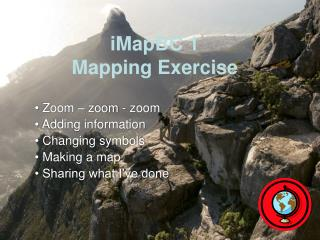 iMapBC 1 Mapping Exercise