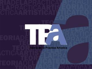 Teoría de la Práctica Artística