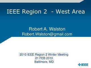 IEEE Region 2  - West Area