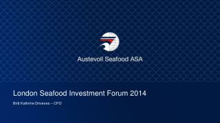 London Seafood Investment Forum 2014