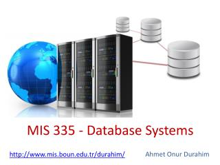 MIS 335 - Database Systems