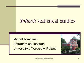 Yohkoh  statistical studies