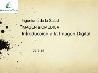 Ingenier�a de la Salud IMAGEN BIOMEDICA  Introducci�n a la Imagen Digital