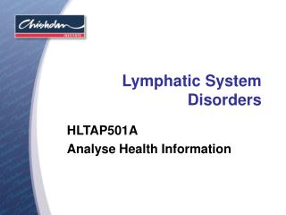 Lymphatic System Disorders