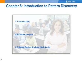 Chapter 8: Introduction to Pattern Discovery