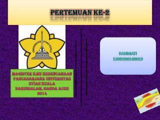 PERTEMUAN KE-2