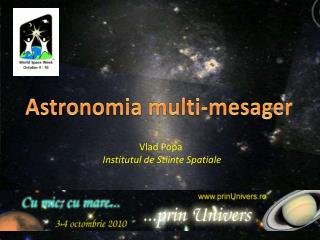 Astronomia  multi- mesager