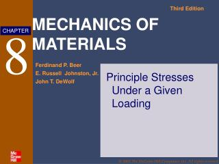 Principle Stresses Under a Given Loading