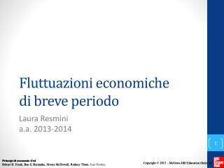 Fluttuazioni economiche di  breve periodo