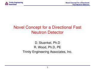 Novel Concept for a Directional Fast Neutron Detector