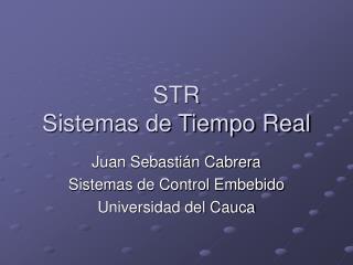 STR Sistemas de Tiempo Real