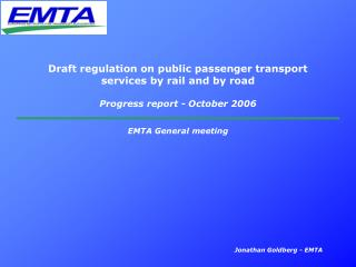 EMTA General meeting