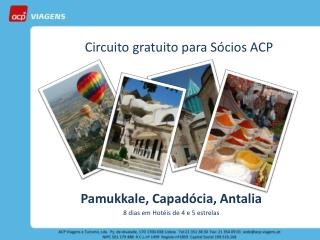 Circuito gratuito para Sócios ACP