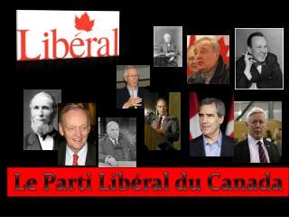 Le Parti Lib�ral du Canada