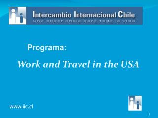 Work and Travel in the USA