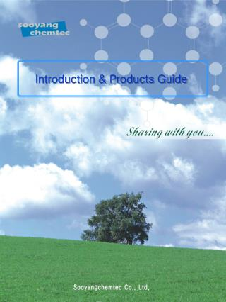 Introduction & Products Guide
