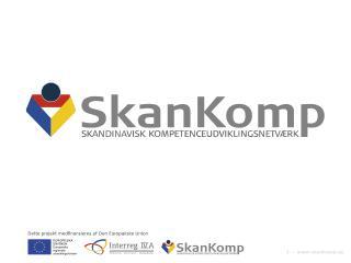 Vad är SkanKomp?