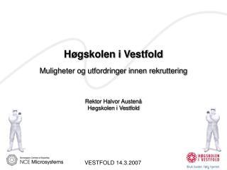 VESTFOLD 14.3.2007