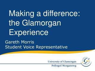 Gareth Morris Student Voice Representative