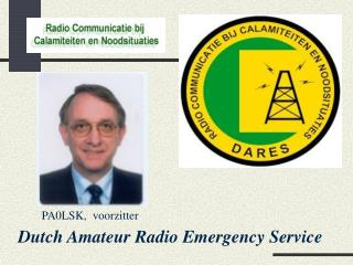 Dutch Amateur Radio Emergency Service