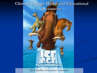 Climate Change Myths and Educational Resources